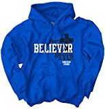 Believer Forever Christian Shirt Cool Jesus Christ Religious Hoodie Sweatshirt
