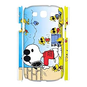 Snoopy For Samsung Galaxy S3 I9300 Custom Cell Phone Case Cover 96II654251