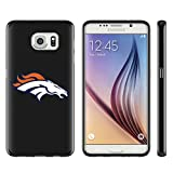 Denver Broncos Samsung Galaxy Note 5 Case Black,Soft Glossy TPU Rubber Galaxy Note 5 Cover with Note5 Tempered Glass Screen Protector