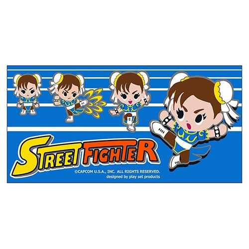 Price comparison product image Street Fighter Chun Li Jumbo Towel [Capcom]
