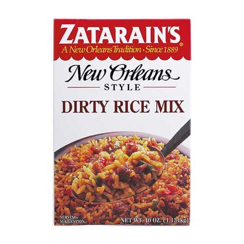 Zatarains Dirty Rice Mix, 40 Ounce -- 8 per case. by Zatarain's