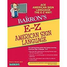 E-Z American Sign Language (Barron's Easy Series)