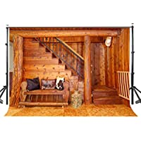 Lyly County 10x7ft Log Cabin Backdrop Cloth Retro Wood Room Booth Background Studio Props Photography LYGE412