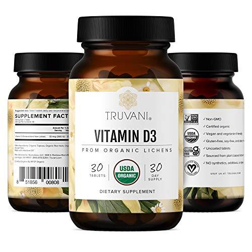 Truvani Organic Vitamin D3