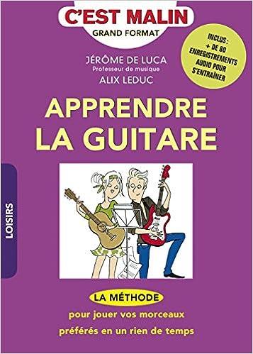 apprendre la guitare c'est malin