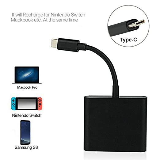 Amazon.com: MChoice❤️1080P 4K HDMI Adapter for Switch USBC ...