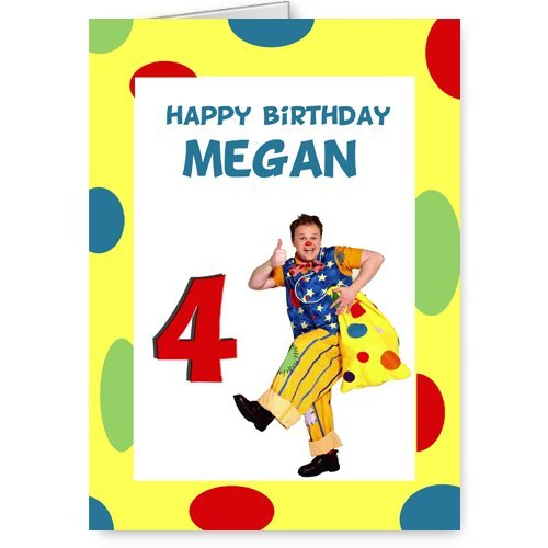 mr tumble cbeebies personalised birthday card Amazoncouk – Mr Tumble Birthday Card