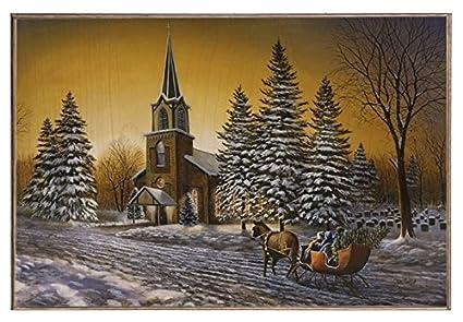 Jim Hansel Christmas Print CHERISHED MEMORIES