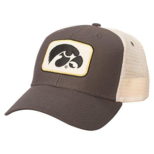 - NCAA Iowa Hawkeyes Adult Unisex Sideline Mesh Cap   Adjustable