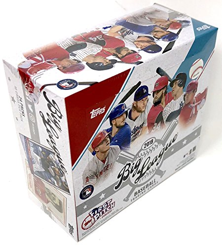 Large Product Image of Topps 2018 Big League Baseball Retail Display Box