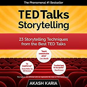 TED Talks Storytelling Audiobook