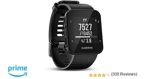 55a1deadfe1a Garmin Forerunner 35- Reloj GPS con monitor de frecuencia cardiaca en la  muñeca