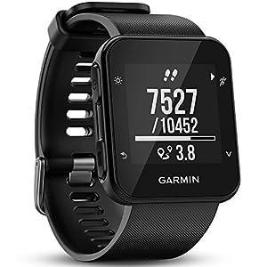 Garmin Forerunner 35 – Montre GPS de Course à Pied Connectée avec Cardio Poignet – Noir (Reconditionné)
