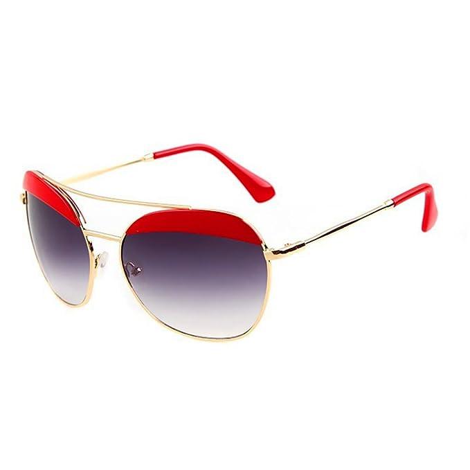 Amazon.com: kaisasi 2016 Retro Wave unisex moda anteojos de ...