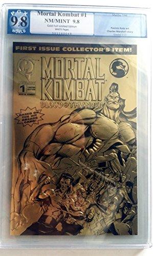 Mortal Kombat 1 Blood & Thunder Gold Foil Variant Cover ()