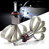Green-L LED Headlight Conversion Kit Copper Heat Dissipation H11 90W 9800lm CREE XHP-50 Chips 6000k White Plug & Play (Pack of 2)