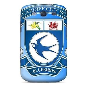 Cute Tpu WilliamMorrisNelson Popular Football Club Cardiff City Case Cover For Galaxy S3