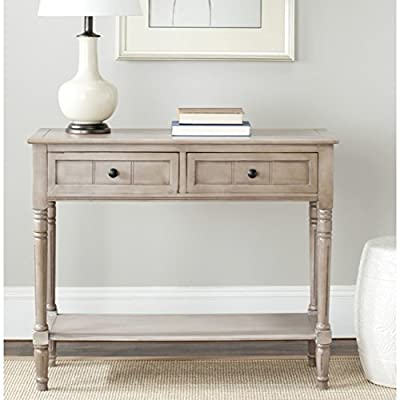 Safavieh American Home Collection Console Table, Vintage Grey