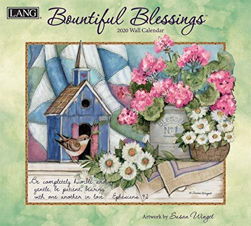 - The LANG Companies Bountiful Blessings 2020 Wall Calendar (20991001897)