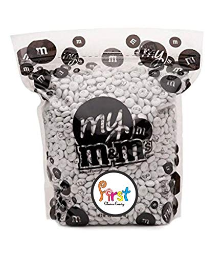 All Color M&M'S Bulk Candy Bag (Wedding, 2 Pound) by FirstChoiceCandy