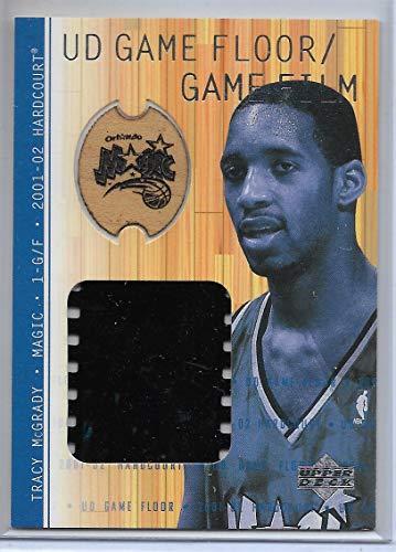2001-02 UD Hardcourt Basketball Tracy McGready Game Floor/Film Card # TM-F