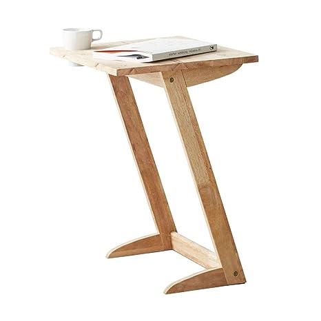 Amazon.com: Mesa de café en forma de Z, mesa auxiliar ...