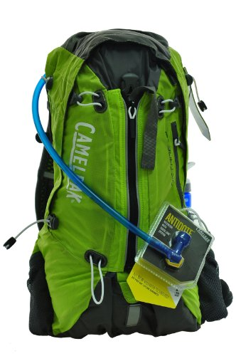 Camelbak Octane 18X 100 oz Hydration Pack, Lime Punch/Graphite, Outdoor Stuffs