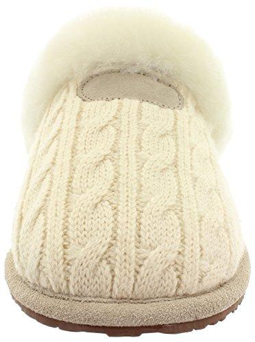 Pantoffeln Hausschuhe LAMB FUR SLIPPER 35217 Cream