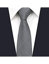 d41a0f4a23b9 Shlax Wing Solid Color Grey Mens Neckties Ties Business Suit XL 63