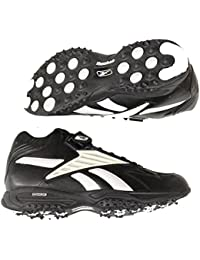 2f24faa4ec6188 Mid Turf Mens Football Shoes Black White Size 16.0. Reebok