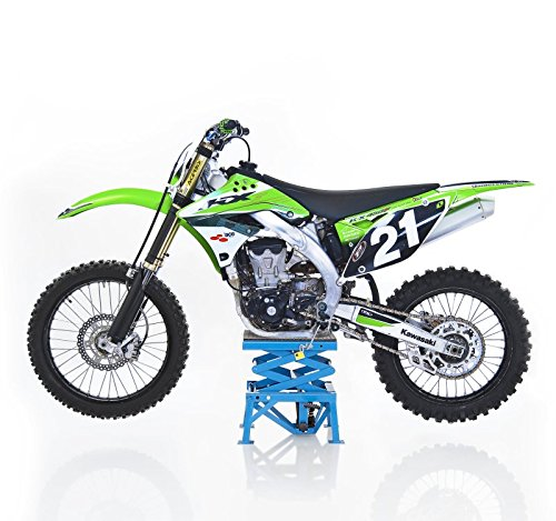 ConStands Yamaha YZ 85//125// 250//450// F Pont Elevateur Hydraulique Moto Cross Lift XL Bleu