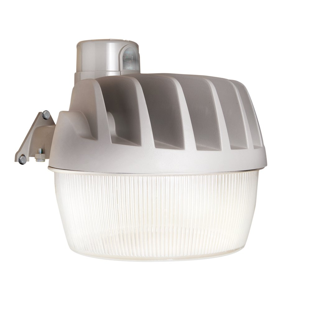 All-Pro AL5550LPCGY All-Pro Led Area Light with Replaceable Photo Control, 175W Metal Halide Equivalent, 5500 Lumens, 5000K