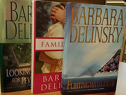 Barbara Delinsky 3 hardback set ...... Family Tree, Flirting With Pete, Looking For Peyton Place