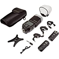 Neewer NW565EX i-TTL Slave Flash Kit for Nikon DSLR Camera Such as D7100 D7000 D5300 D5200,Include:(1)NW565N Flash +(1)2.4GHz Wireless Trigger+Hard&Soft Flash Diffuser+Lens Cap Holder+N1&N3 Cable