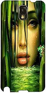 Mujer Snoogg En La Selva En La Cubierta De La Caja Trasera Protectora 2844 De...