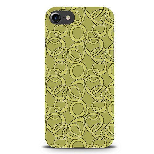 Koveru Back Cover Case for Apple iPhone 7 - Green Pattern