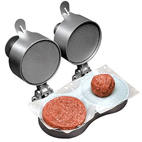 Double Patty Maker, Burger-Maker Lets You Season Meat Exactly To Your Taste. (Weston Double compare prices)