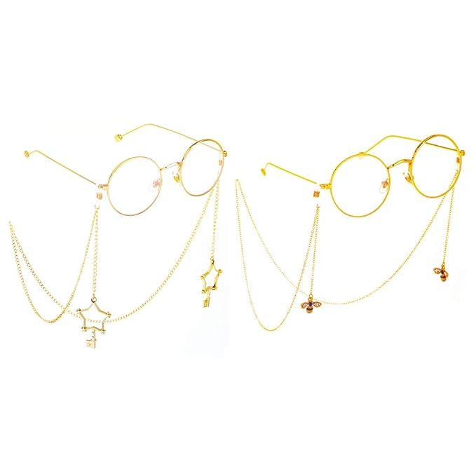 Amazon.com: Lanyan - Cadenas de gafas de sol para mujer con ...