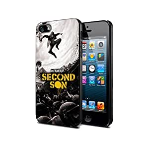 Infamous Second Son Game Case For Samsung Note 2 Silicone Cover Case Nif06