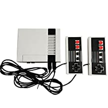 Retro Video Game Console 8 Bit Game Player Built-In 500 Games + Dual Controllers