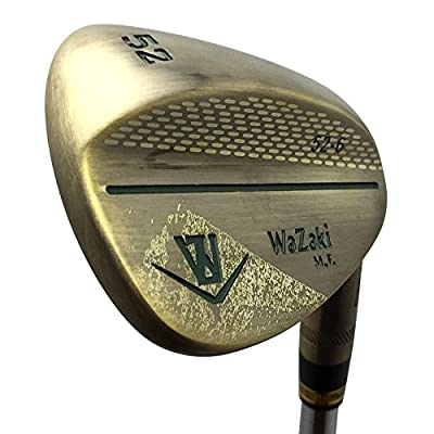 wazaki Japan Copper Finish M Pro Forged Soft Iron USGA R A Rules of Golf Club Wedge Set(Pack of Three) by wazaki