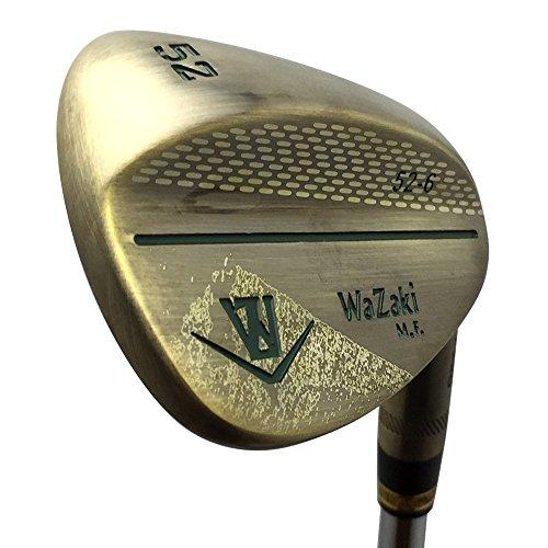 Japan Wazaki Copper Finish M Pro Forged Soft Iron USGA R A rules of Golf Club Wedge Set(pack of three) by wazaki (Image #1)