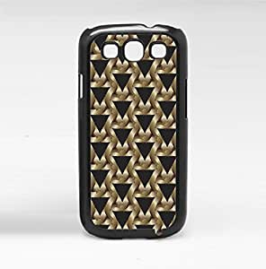 Triangle Pattern Hard Snap on Phone Case (Galaxy s3 III)