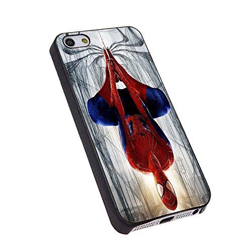 amazing spiderman logo for iPhone Case (iPhone 5C black)