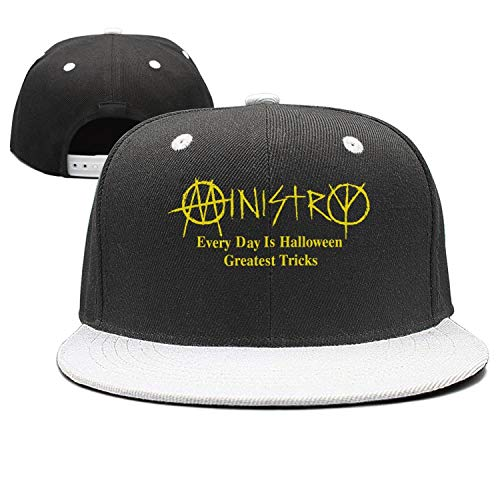 Everyday Is Halloween Ministry Album (HASIDHDNAC Ministry Every Day is Halloween Flat Cap Classic Adjustable Comfortable Hats for)