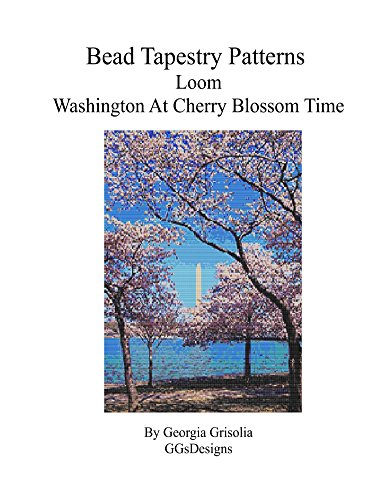 Bead Tapestry Patterns Loom Washington at Cherry Blossom Time (Time Blossom Pattern)