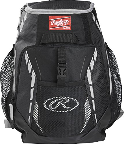Rawlings R400-B Players Backpack - Black (Bags Players)
