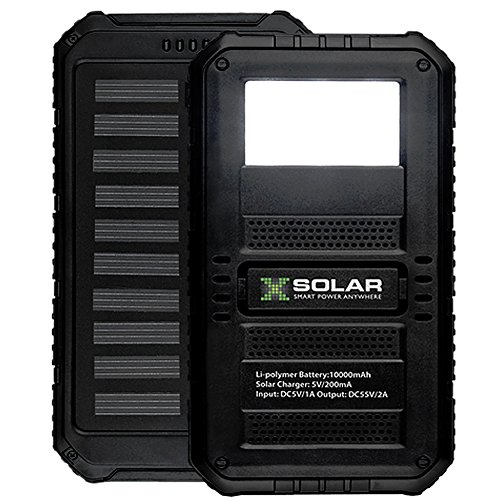 Portable Solar Powered Battery Charger - 7