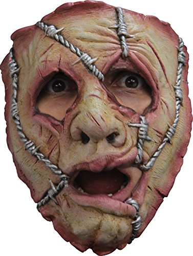 UHC Serial Killer 32 Latex Horror Scary Theme Party Face Mask Halloween (Two Person Halloween Costumes)