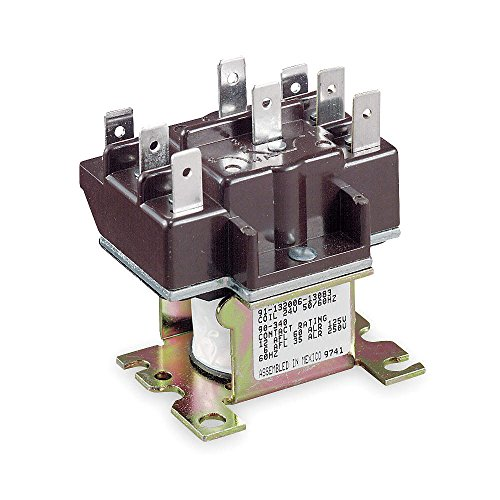 White-Rodgers / Emerson 90341 2 Pole Switching Relay, 115/120 VAC, 50/60 Hz - 120v Switching Relay